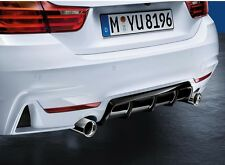 Genuine BMW 3 Series F30 M Performance Rear Diffuser 51192291418