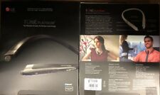 BRAND NEW Tone Platinum Bluetooth Stereo Headset Wireless Audio Black Hbs-1100