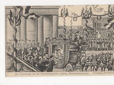 Germany, Berlin Royal Wedding 1905, Empfang an Pariserplatz Art Postcard, B027