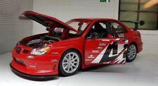 1:24 Escala Apr Wrx Subaru Impreza Desempeño Welly Coche de Modelo Nitto