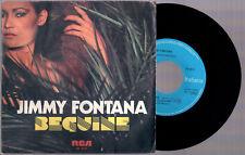 "JIMMY FONTANA BEGUINE + CHE SARA' 1982 RCA ITALY PB 6573 7"" 45 GIRI"