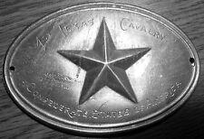 1862 1st TEXAS CALVARY C.S.A.  Breast/Box/Saddle Plate