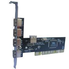 Raccomandata P. - PCI Scheda Espansione Adattatore USB 2.0 480Mbps 5 Porte NEC D