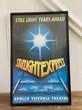 starlight express poster Framed