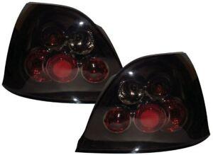ROVER 25 01-05 BLACK LEXUS STYLE DESIGN REAR BACK TAIL LIGHTS