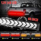 60 540led Truck Strip Tailgate Light Bar Reverse Brake Tail Flowing Turn Signal