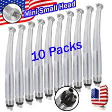 4hole Dental High Speed Handpiece Pedo Pediatric Push Button Mini Small Head