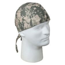 ACU Digital Khaki Green Tan Camo Doo Rag Head Wrap Skull Cap Durag Rothco