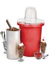 Electric Ice Cream Maker 4-Quart Frozen Yogurt Machine Bucket Freezer Home Made photo