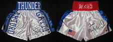 Arturo Gatti & Irish Micky Ward Autographed Signed Boxing Trunks ASI Proof