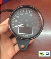 Contagiri contachilometri LCD digitale a LED per moto universale 0 ~ 160KM / H