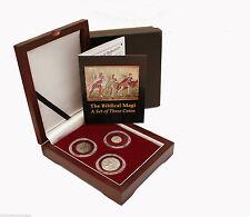 "The Biblical Magi 3 Coin set - 2 Silver and 1 Bronze with COA ""The 3 Wisemen"""