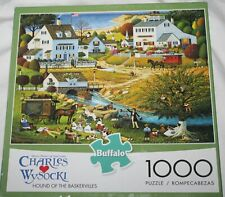 Charles Wysocki Hound of the Baskervilles Jigsaw Puzzle 1000 pieces Buffalo NEW