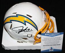LaDainian Tomlinson signed Mini Helmet, San Diego Chargers, Beckett BAS W02526