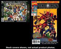 Marvel: Heroes & Legends 1 2 Marvel 1996 Complete Set Run Lot 1-2 VF/NM