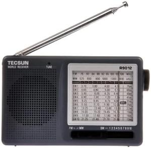 TECSUN R-9012 Portable Digital Shortwave Radio AM/FM/SW1-10 12 Bands Receiver