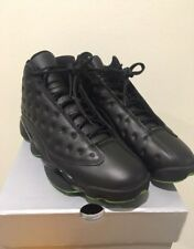 Air Jordan 13 Retro Black Altitude Green Men's Size US9 414571-042 DS kobe