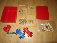 "Vintage 1960 Ungar Eldon Auto Slot Car Race Set Ungar Special & "" Fireball"""