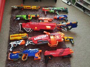 Nerf Gun Spare & Repair bundle lot, Rival,Hyperfire,Mega Mastadon,Thunderhawk...