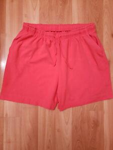 Karen Scott Women's Pink Shorts 1X