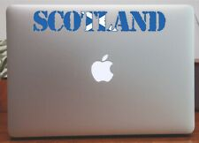 Scotland Outline  Flag  Map Laptop Bumper Window Sticker Proud to be Scottish