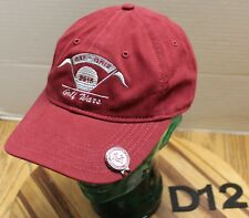 "2015 MONTANA GRIZZLIES MONTANA STATE BOBCATS ""GOLF WARS"" HAT ADJUSTABLE VGC D12"