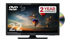 "FERGUSON 22"" INCH LED TV DVD FREEVIEW HD & SAT, HDMI 1080P CARAVAN"