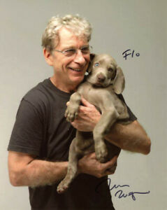 WILLIAM WEGMAN SIGNED AUTOGRAPHED 8x10 PHOTO FAMOUS DOG PHOTOGRAPHER BECKETT BAS
