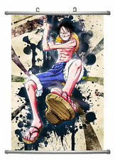 One Piece Anime Luffy Wall Scroll Extra Large Size - 60x90 CM