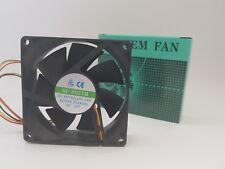 1x XHY-8025 Gehäuselüfter 80x80x25mm (inklsv. Montageschrauben)