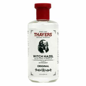 Thayers Witch Hazel Aloe Vera Astringent - 12 fl oz FRESH, FREE SHIPPING