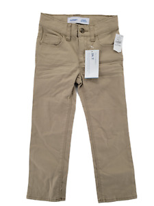 Old Navy Toddler Boy's 5 Pocket Straight Chinos Khaki Size 4T