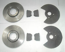 ROVER P5 FRONT BRAKE DISCS, DISC PADS AND DISC SHIELDS NEW NOS