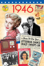 71st Birthday Gifts - 1946 Time of  Life DVD Retro Card - Keepsake Gift Cards