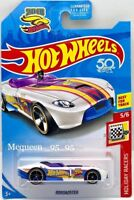 2018 HOT WHEELS RRROADSTER TREASURE HUNT HOLIDAY RACERS 50TH ANNIVERSARY