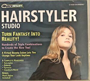 Quickstart Hairstyler Studio Pc Brand New Win10 8 7 XP