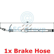 APEC BRAKING 538mm Scheibe Bremssattel flexibel GUMMISCHLAUCH hos3673