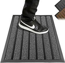BASICBIRD Fußmatte Indoor Outdoor Grau 45 x 75 cm Bodenmatte