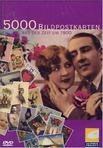 5000 Bildpostkarten aus der Zeit um 1900 Digitale Bibliothek DVD