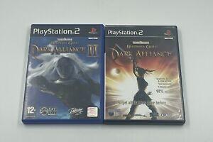 FORGOTTEN REALMS BALDUR'S GATE: DARK ALLIANCE 1&2 PS2 GAMES