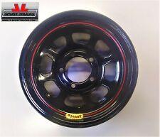 "Wheel DOT Street Legal 15x7/"" 3.000/"" Backspace 5x4.50/"" Bolt Pattern Steel Black"