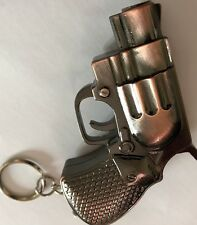 1X  New Limited Edition Key Ring Brass   Jet Flame  Gas  Lighter Windproof U.K.