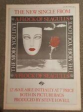 Bandada de Seagulls More you love 1984 edición anuncio Completo páginas 30x42cm