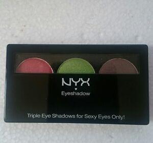 NYX Trio Eyeshadow Palette Eye Shadow Trio Combo Palette TS.38