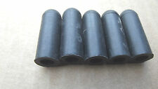 """24,RUBBER VACUUM CAPS,FOR 5/16""""HOSE CONNECTOR,1 3/8"""" LONG 1/4""""ID.3.1."""