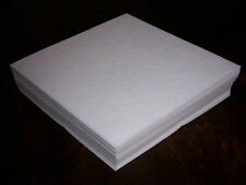 50x Sticky Embroidery Stabilizer/Backing Tear Away 8x8""
