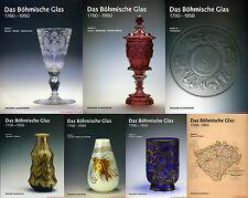 Fachbuchpaket Böhmisches Glas 1700-1950 alle 7 Bände im Schuber statt 410€ NEU