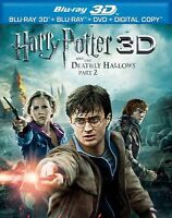 Harry Potter and the Deathly Hallows: Part II 3D Blu-ray & Blu-ray - No DVD