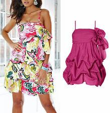 Kleid sexy 2-in-1-Kleid oder Rock Rainbow Gr. 42 fuchsia 906448 NEU