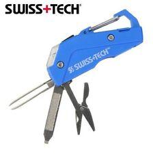 Swiss Tech Personal Care 7-in-1 Tool Flashlight Nail File Tweezer Scissor Plus
